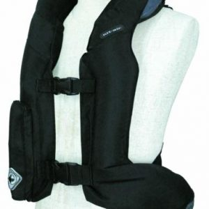 Hit-Air-Equestrian-Air-Vest-front-inflated-black
