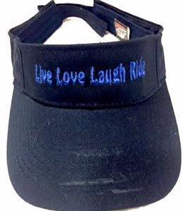 Live love, laugh ride peak cap
