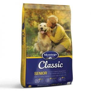 Montego Senior dog food