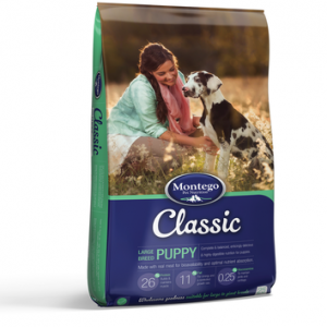 Montego puppy food