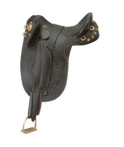 Polocross saddle