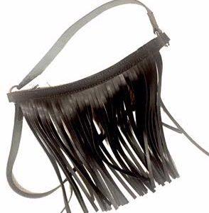 leather fly fringe