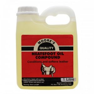 Moores neatsfoot oil