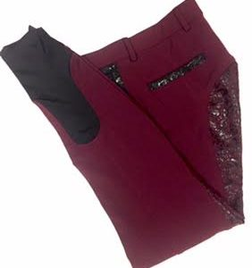 Equileisure maroon breeches
